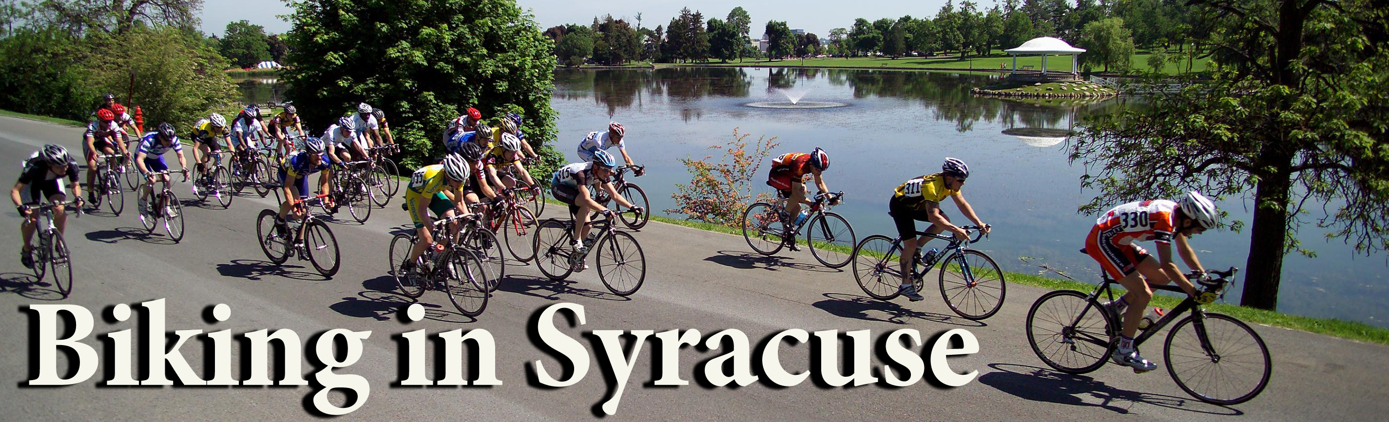 Biking in Syracuse