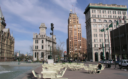 Clinton Square seating
