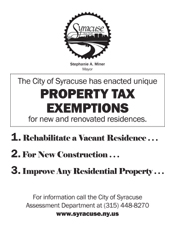 Property Tax Incentives